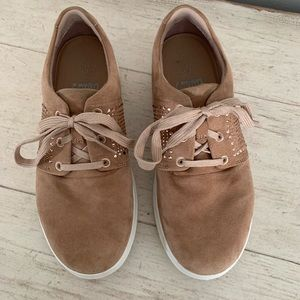 Fitflop Crystal Suede Sneakers